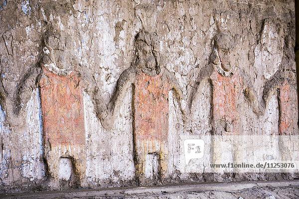Huaca del Sol y de la Luna  Moche civilisation  Peru  South America