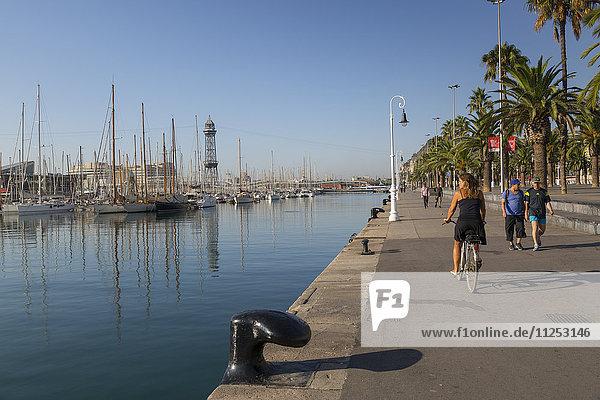 Port Vell  Barcelona  Catalonia  Spain  Europe