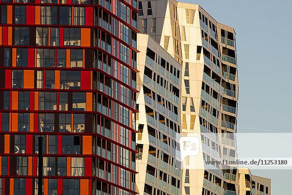 Exterior detail of Calypso Building  Kruisplein  Rotterdam  Netherlands  Europe