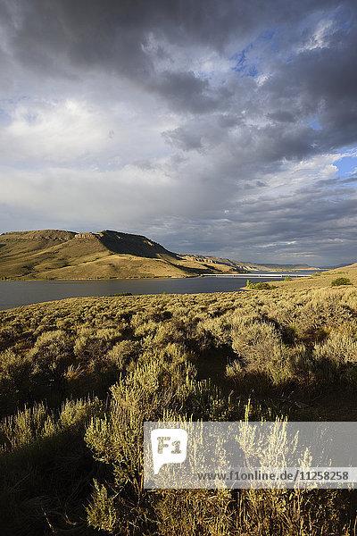 USA  Colorado  Gunnison  Curecanti National Recreation Area and Blue Mesa Reservoir