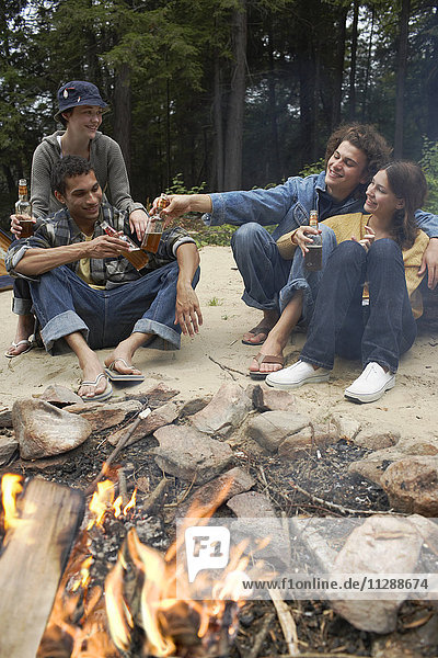 Group of People Outdoors
