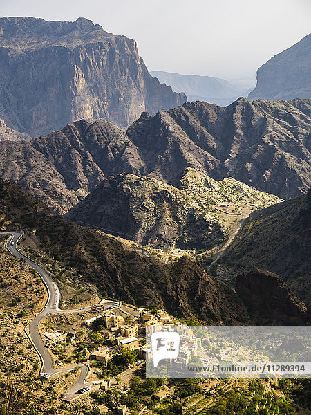 Oman  Jabal Akhdar  Al Shuraijah Dorf