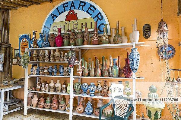 Töpferei El Alfarero Casa Chichi  Trinidad  Provinz Sancti Spiritus  Kuba  Mittelamerika