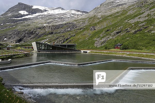 Trollstigen visitor center  Andalsnes  Norway  Europe