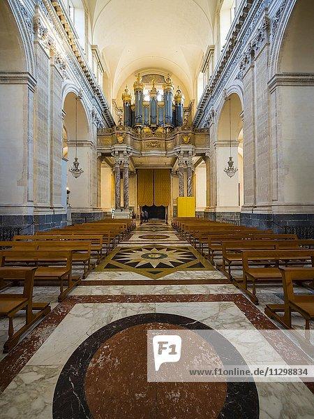 Orgelempore  Kathedrale Sant Agata  Piazza del Doumo  Catania  Sizilien  Italien  Europa