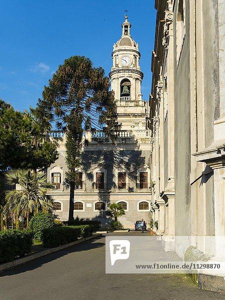 Dom St. Agata  Piazza del Doumo  Catania  Provinz Catania  Sizilien  Italien  Europa