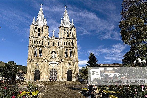 Basilica Menor de la Inmaculada Conceptión  Jardín  Antioquia  Colombia  South America