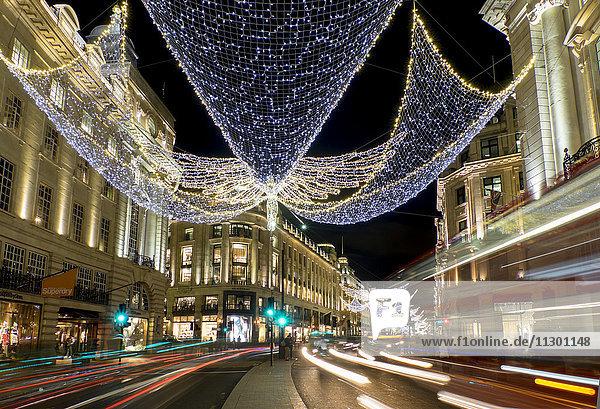 Regent Street,  Westend,  Westminster,  London,  England,  Großbritannien,  Europa