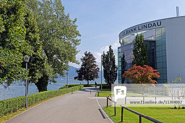 Lake Constance  Bodensee  casino of Lindau