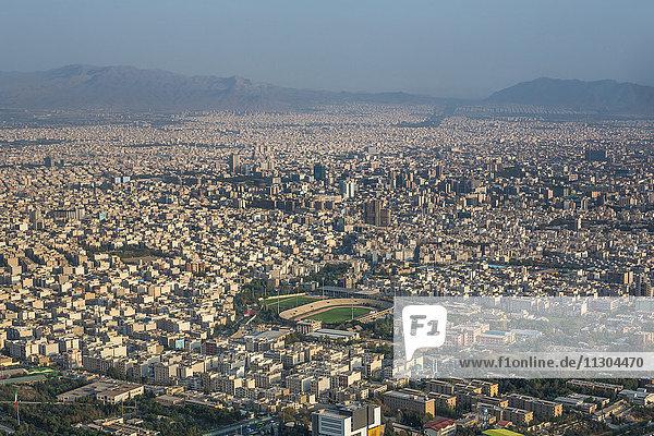 Iran  Teheran City  Teheran city from Milad Tower.