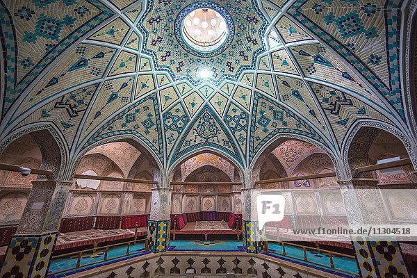 Iran  Kashan City  Hammam Sultan Mir Ahmad  (bath house)