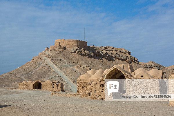Iran  Yazd City  Dakhmeh-ye Zarstoshtiun  Zoroastrian Towers of Silence