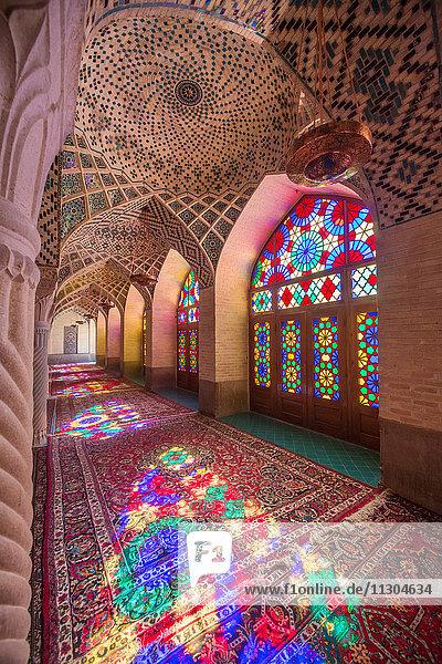 Iran  Shiraz City  Mmasjed-e  Nasir al-Molk Mosque