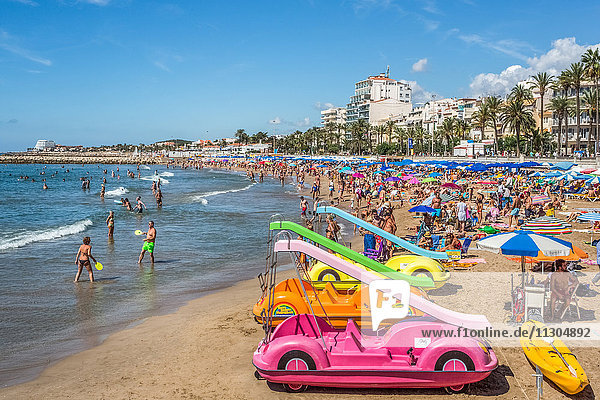 Spain  Catalonia  Sitges City