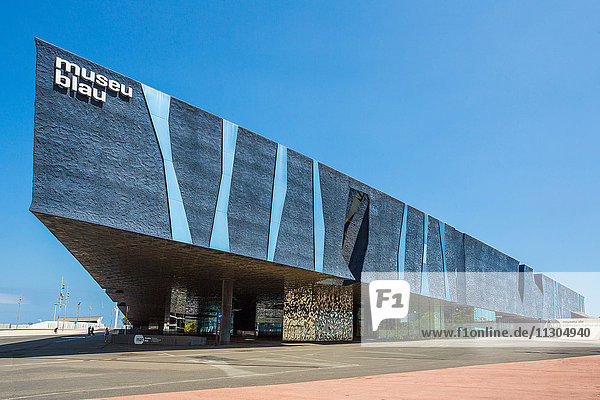 Spain  Catalonia  Barcelona City  Forum Building  Blue Museum