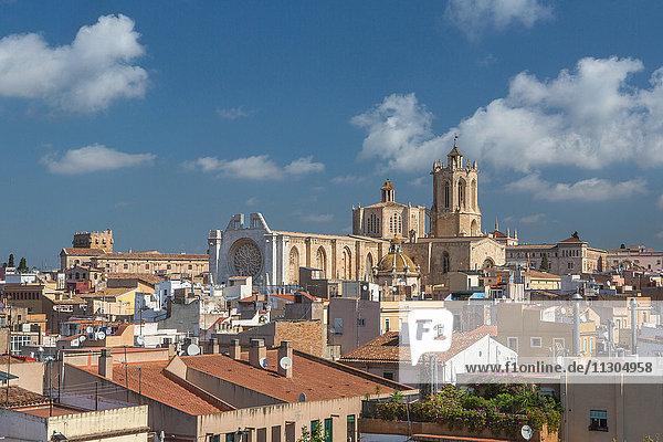 Spain  Catalonia  Tarragona City  Tarragona Cathedral