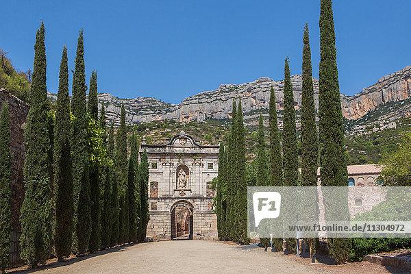 Spain  Catalonia  Scaladei City  Santa Maria Scaladei Monastery  12th century