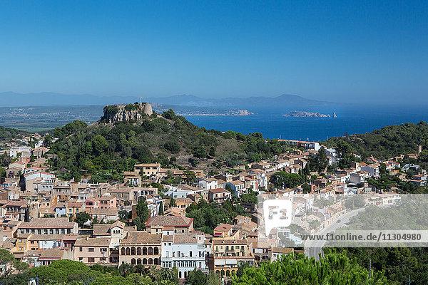 Spain  Catalonia  Costa Brava  Begur City