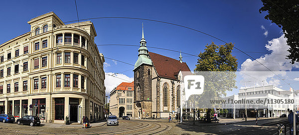 Germany  Saxony  Goerlitz  Panoramic view with Church of Our Lady