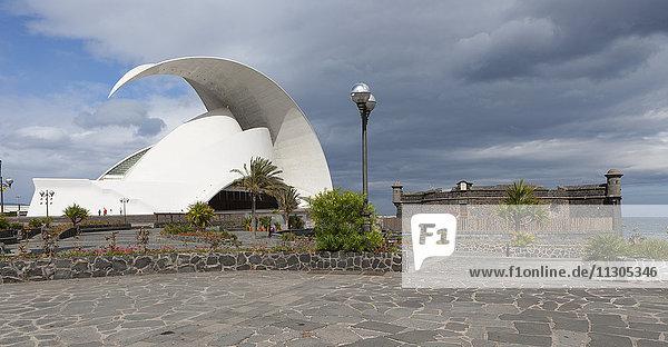 Spain  Tenerife  Santa Cruz de Tenerife  Auditorio de Tenerife