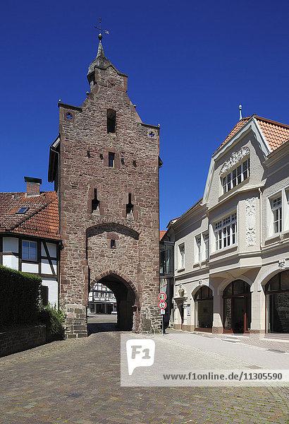 Niederntor in Blomberg  Weser Bergland  North Rhine-Westphalia