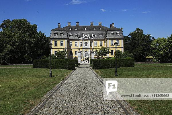 Moated castle Schwarzenraben in Lippstadt-Bökenförde  North Rhine-Westphalia