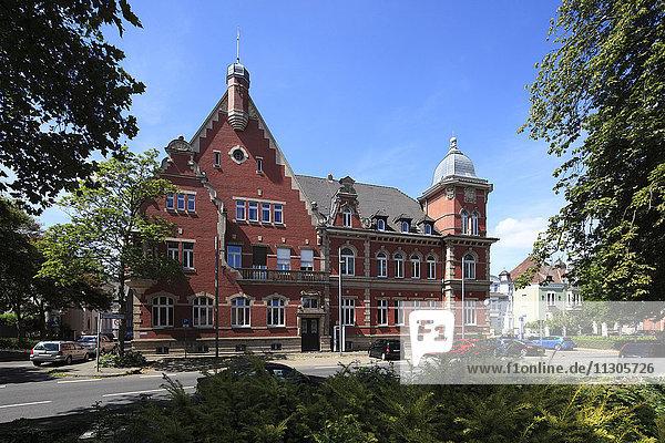 Dülkener city hall in Viersen-Dülken  Lower Rhine  North Rhine-Westphalia