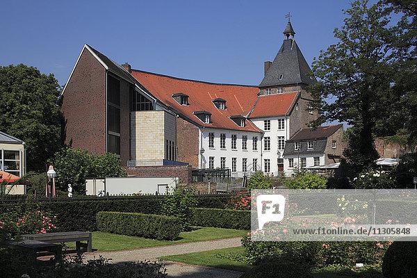 Castle  and castle park Moers  Lower Rhine  North Rhine-Westphalia