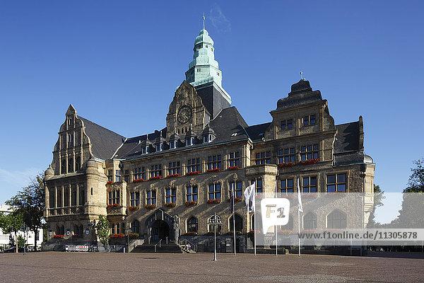 City hall in Recklinghausen  Ruhr area  North Rhine-Westphalia