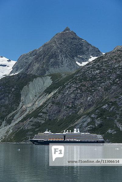 cruise ship  glacier bay national park  Alaska