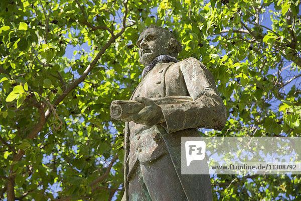 Kauai  Captain Cook  Cook  monument  Waimea  USA  Hawaii  America