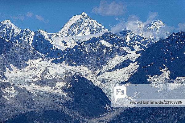 fairweather  range  glacier bay  national park  Alaska  USA  mountains  glacier