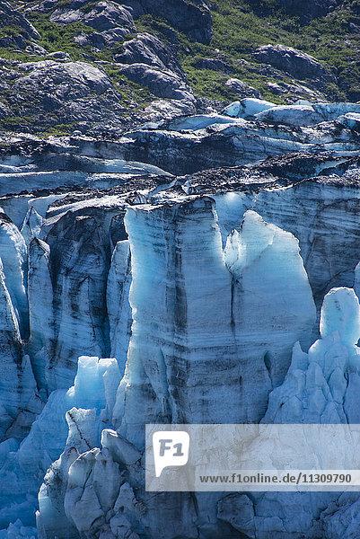 Johns Hopkins glacier  glacier bay  national park  Alaska  USA  glacier  ice