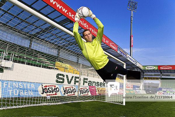 Football  Soccer  action  sport  goalkeeper  parade  ball  man  gate