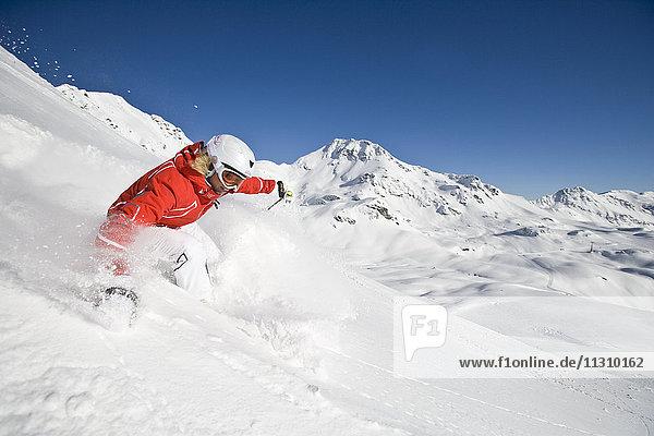 Woman  ski  skiing  Carving  Austria  sport  winter