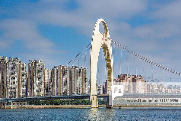 China  Guangdong Province  Guangzhou City  Liede Bridge  Liedecun District