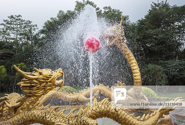 China  Guandong Province  Shenzen City  Splendid China Park  garden