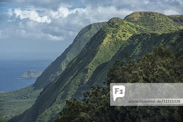 USA  Hawaii  Molokai  Kalaupapa Peninsula