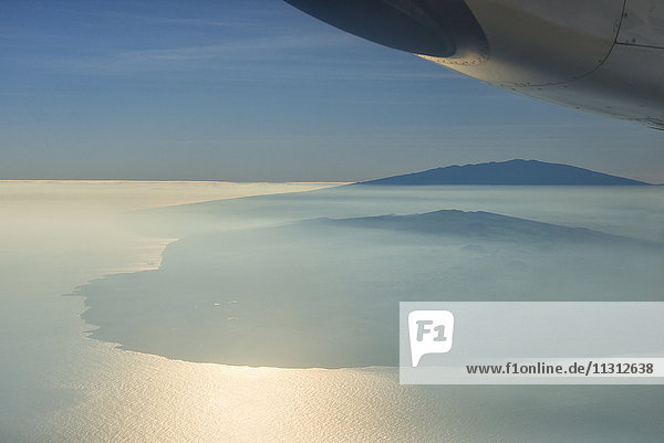 USA  Vereinigte Staaten  Amerika  Hawaii  Big Island  aerial view