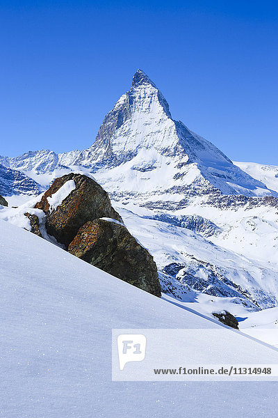 Matterhorn - 4478 ms  Zermatt  Valais  Switzerland
