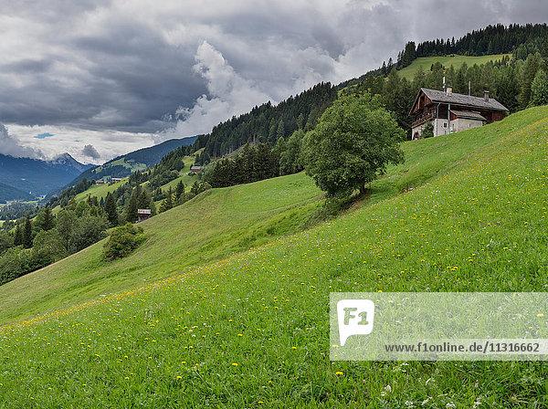 Sillian  Austria  Farmhouses at mountain Sillianberg