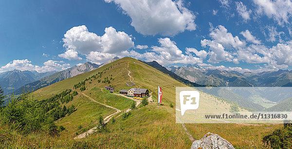 Matrei in Osttirol  Austria  Törlhaus  Rotenkogel mountain  Europa Panoramaweg  Grossglockner
