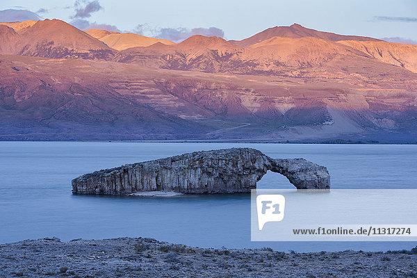 South America  Argentina  Santa Cruz  Patagonia  Lago Posadas
