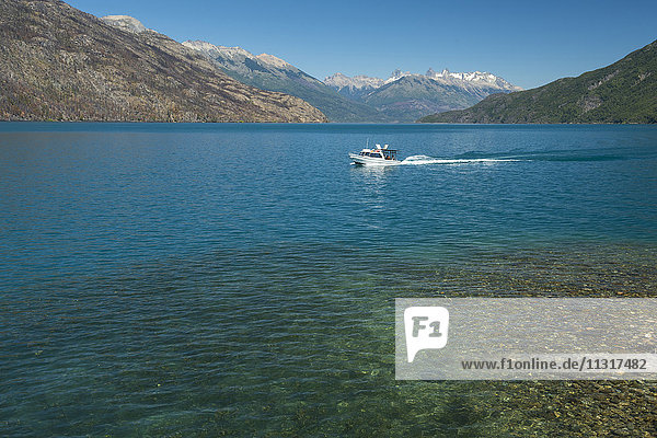 South America  Argentina  Patagonia  Chubut  Lago Puelo