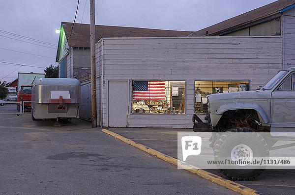 USA  California  West Coast  Crescent City  nights/Crescent City II