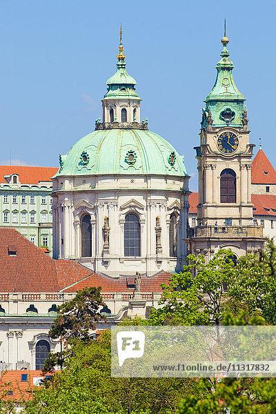 Czech Republic  Prague - St. Nicholas Church.