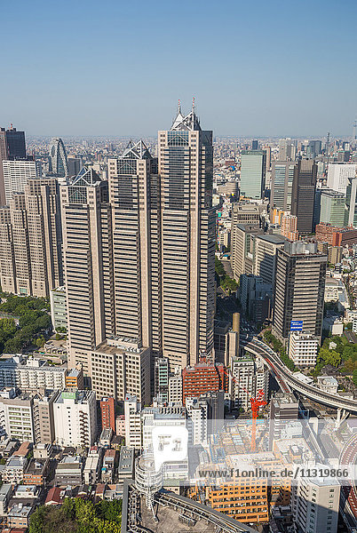 Japan  Tokyo City  Shinjuku District  Park Tower Building