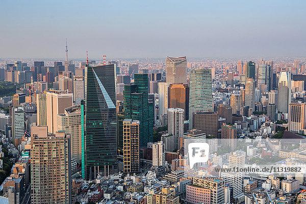 Japan  Tokyo City  Minato Ku and Chiyoda Ku Districts