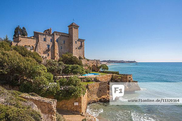 Spain  Catalonia  Tarragona Province  Tamariu Castle