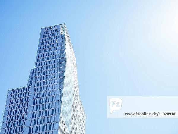 Deutschland  Frankfurt  modernes Hochhaus